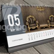 Mẫu thiết kế lịch bàn độc quyền 2018