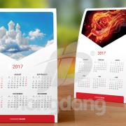 Thiết kế lịch để bàn đặc biệt 2018